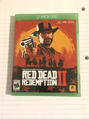 Red Dead Redemption 2 Xbox One for Sale in Huntington, WV