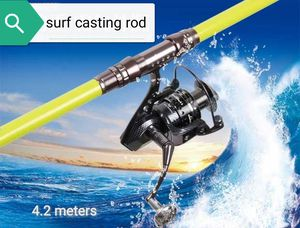 #226 lightweight surf casting fishing rod 4 sections for Sale in West Covina, CA