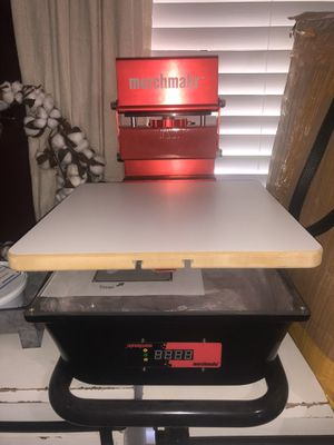 SCREEN PRINTER ONE HEAD for Sale in Humble, TX