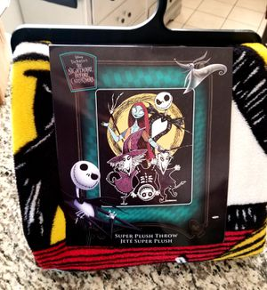 The nightmare before Christmas blanket for Sale in Buena Park, CA