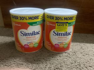 SIMILAC SENSITIVE $20 Each for Sale in Phoenix, AZ