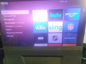 55 inch Mitsubishi rear projection 1080i TV for Sale in Mount Clemens, MI