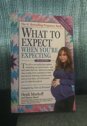 Book- What to expect when you are expecting. 5th edition for Sale in Sebring, FL