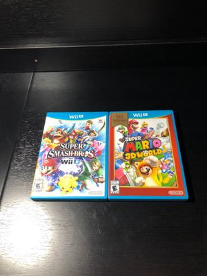 Nintendo Wii U games for Sale in Swansea, MA