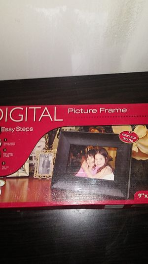 Digital picture frame for Sale in West Valley City, UT