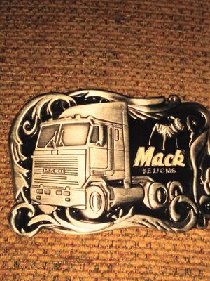 Vintage Mac truck belt buckle for Sale in Alcoa, TN