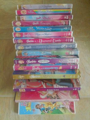 Barbie 15 DVD's for Sale in Humble, TX