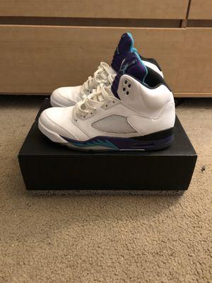 "Air Jordan 5 Retro ""Grape"" SIZE 9 for Sale in Oldsmar, FL"