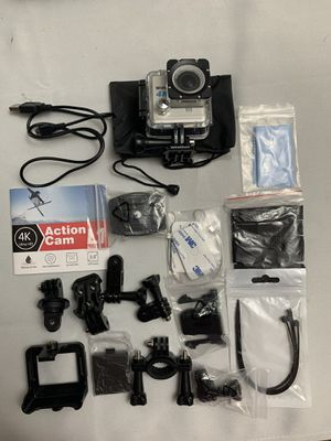 Wimius 4K 20MP Wifi Sports Action Camera Waterproof 2 Rechargeable Batteries for Sale in Fontana, CA