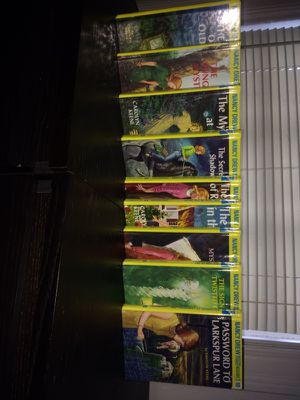 Nancy Drew books 1-10 for Sale in Houston, TX