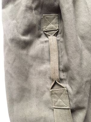 Giant army / military canvas vertical duffel bag for Sale in New York, NY