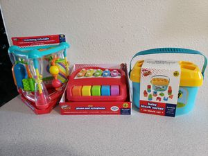 Baby Learning Set Brand New 3pk Set for Sale in Bend, OR