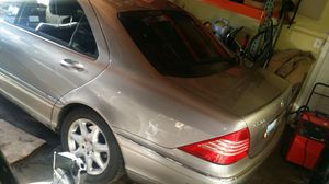 2004 Mercedes Benz S500 PARTING OUT!! for Sale in Kent, WA