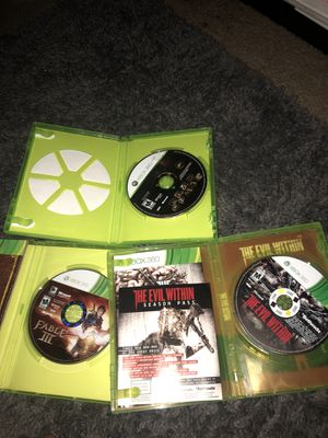 Dead Space, Fable 3, Evil Dead and they are all for Xbox 360 for Sale for sale  Long Beach, CA