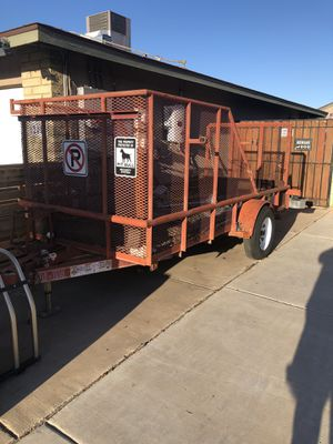 Utility trailer 12 X 5 for sale!!!! for Sale in Phoenix, AZ