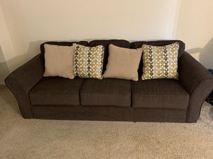 NEGOTIABLE!!! Brown Couch for Sale in Silver Spring, MD