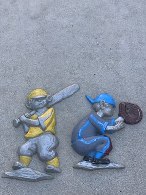 Antique Baseball Statues 1970 for Sale in Los Angeles, CA