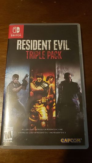 Resident Evil 4-6, Triple Pack for Sale in Willow Spring, NC