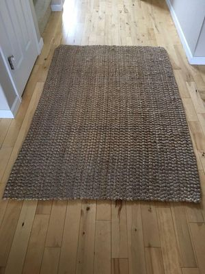 World Market Jute rug 4x6 for Sale in Bend, OR