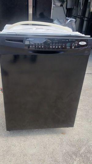 Black whirlpool dishwasher 30 day warranty for Sale in Orlando, FL