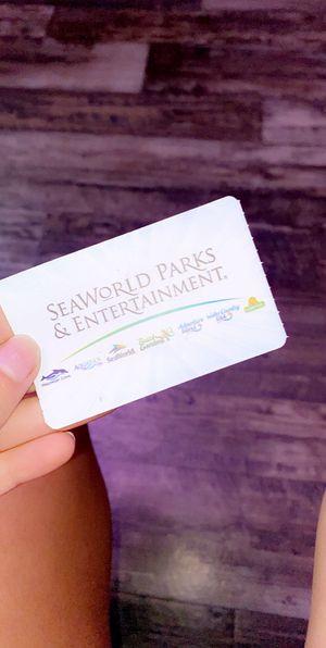 Seaworld Ticket for Sale in Orlando, FL