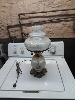 Vintage hurricane lamp for Sale in Penn,  PA