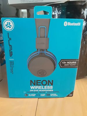 Neon wireless bluetooth headphones for Sale in Houston, TX