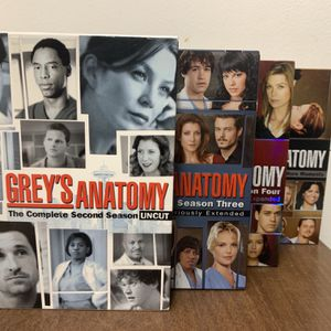 Greys Anatomy - Seasons 2 to 5 - COMPLETE DVD Sets With Extended Scenes for Sale in Hamden, CT