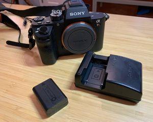 Sony A7RII 42MP 4K digital Camera + lens+ extras for Sale in El Cajon, CA