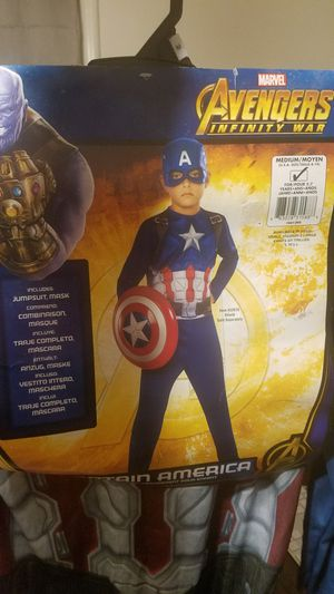 Captain America child costume for Sale in West Valley City, UT