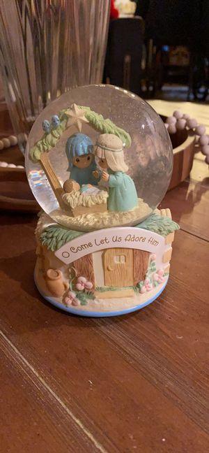 Precious moments snow globe for Sale in Cherry Hill, NJ