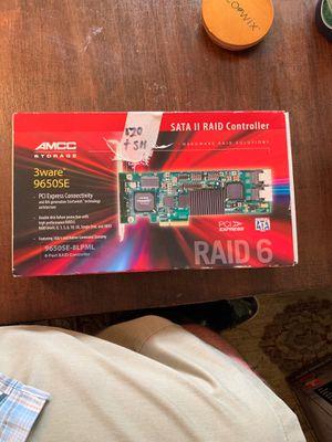 AMCC storage SATA II Raid 6 controller for Sale in Santa Monica, CA