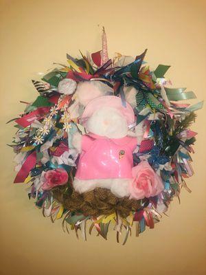 Easter wreath for Sale in Ashville, AL