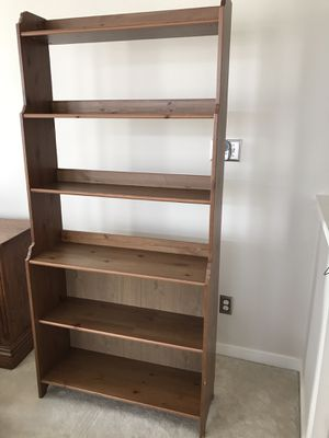 *** EXCELLENT CONDITION SOLID WOOD SHELVING UNIT *** for Sale in Midlothian, VA