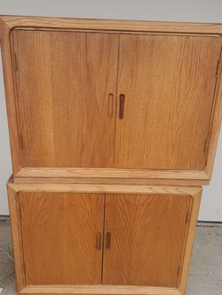 Solid Oak Cabinets for Sale in Kent,  WA