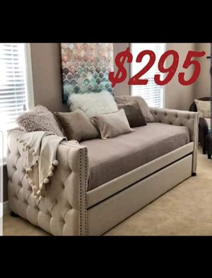 twin on twin trundle day bed for Sale in Ontario, CA