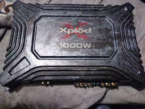 Sony Xplod 1000 W amplifier for Sale in Renton, WA
