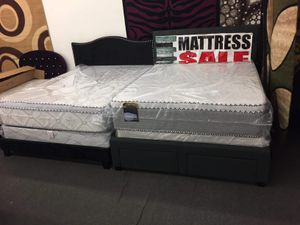ORTHOPEDIC PILLOWTOP MATTRESS AND BOXSPRING for Sale in Chicago Ridge, IL