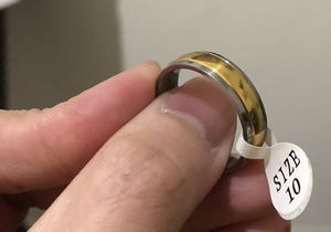 "14k white gold Ring for Men size 10"" $120.00 for Sale in Las Vegas, NV"