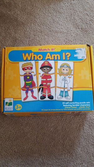Who am I? Match it- the learning journey for Sale in San Ramon, CA