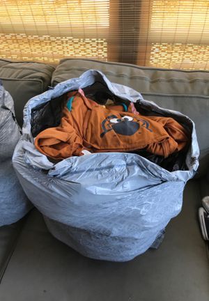 2 large bags of boy clothes for Sale in Orange, CA