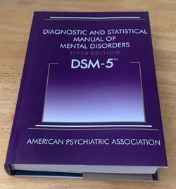 Diagnostic and Statistical Manual of Mental Disorders, 5th Edition: DSM-5 5th Edition HARDCOVER ISBN 978-0890425541 for Sale in Pittsburgh,  PA