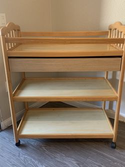 Changing Table/ Diaper Table With Storage for Sale in Santa Ana,  CA