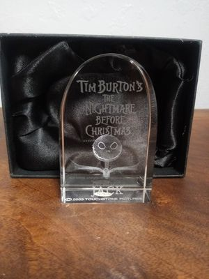 The Nightmare Before Christmas Jack Skellington Paper Weight for Sale in GOODLETTSVLLE, TN