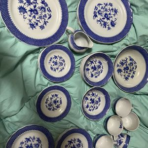 Atkins Ironstone Ware Ming Blue China Made In Japan for Sale in Alexandria, VA