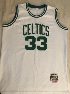 Mitchell & Ness Hardwood Classic Larry Bird Celtics Throwback Jersey for Sale in Henderson, NV