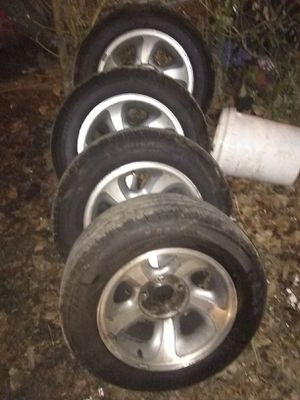 97 to 02 S10 wheels tires for Sale in St. Louis, MO
