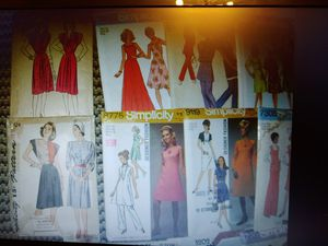 40 Sewing Patterns Women's 60's- 90's for Sale in Pompano Beach, FL
