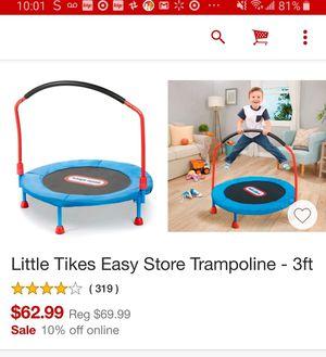 Little Tikes trampoline for Sale in St. Cloud, MN