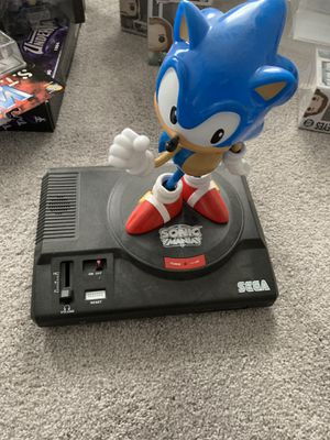 Sega Genesis Nintendo switch sonic mania statue with sega sounds for Sale in Chelsea, MA